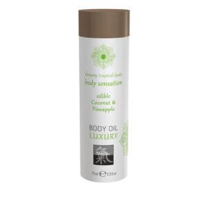 Luxe Eetbare Body Oil - Kokosnoot & Ananas #1