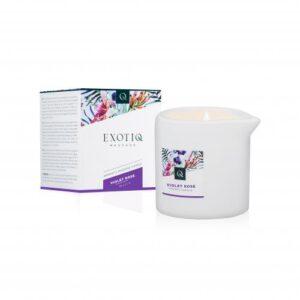 Exotiq Massagekaars Violet Rose - 60g #1
