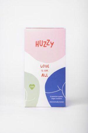 Huzzy 12 Pack Vegan Condooms #1